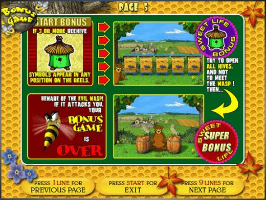 Как играть бесплатно в игровой автомат Медведь и Пчела